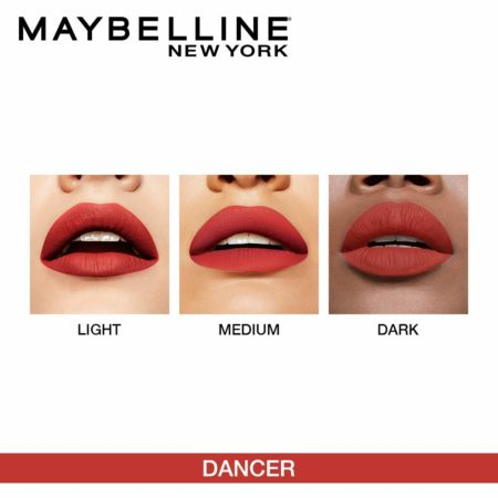 Maybelline New York Ink Liquid Lipstick, 118 Dancer, 5 ml