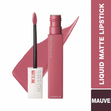 Maybelline New York Ink Liquid Lipstick, 15 Lover, 5ml
