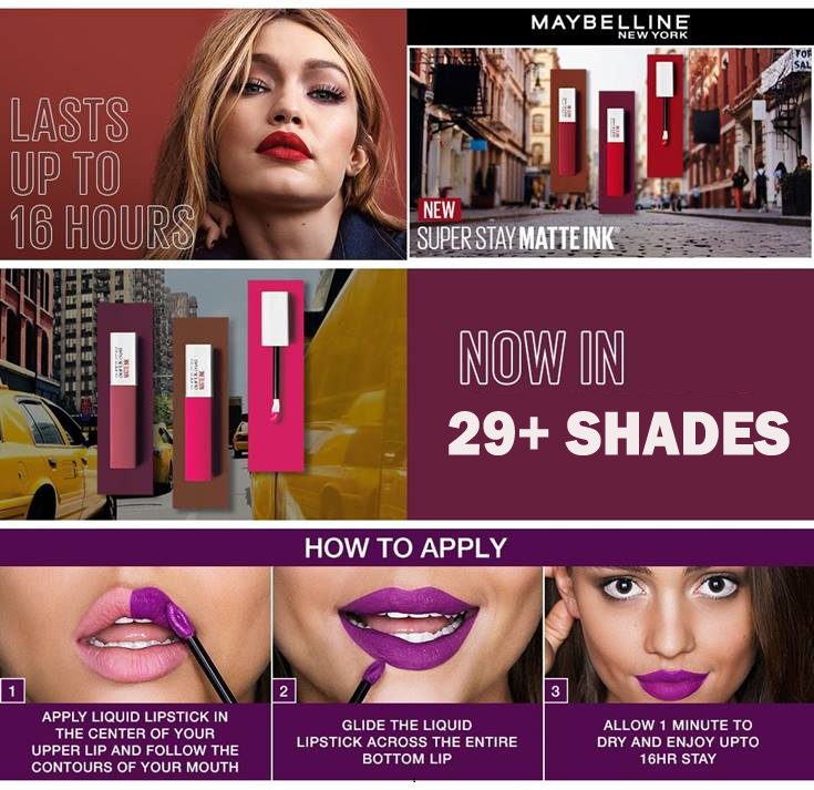 Maybelline New York Ink Liquid Lipstick