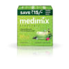 Medimix Ayurvedic Natural Glycerine Bathing Bar, 125g ( Pack of 3 )