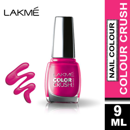 Lakme True Wear Color Crush Nail Color Pinks 21, 9 ml