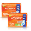 Whisper Choice Ultra Sanitary Pads Pack of 2