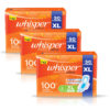 Whisper Choice Ultra Sanitary Pads Pack of 3
