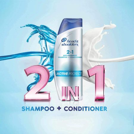 Head and Shoulders 2-in-1 Active Protect Shampoo (180ml)