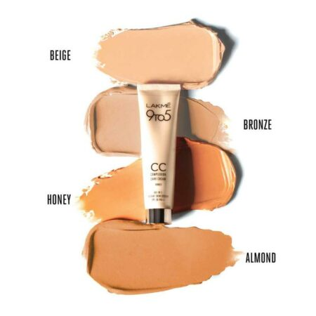 LAKMÉ 9 TO 5 CC COMPLEXION CARE CREAM, BEIGE 9GM