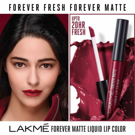 LAKME FOREVER MATTE LIQUID LIP COLOR RED CARPET M