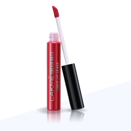 Lakme Forever Matte Liquid Lip Color, Red Carpet (5.6ml)