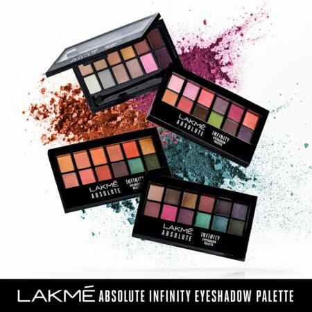 Lakme Absolute Infinity Eye Shadow Palette, Coral Sunset 12g