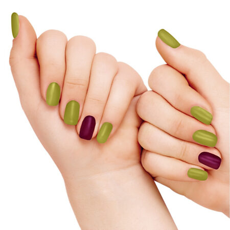 Lakme 9 To 5 Primer + Gloss Nail Color Lime Treat
