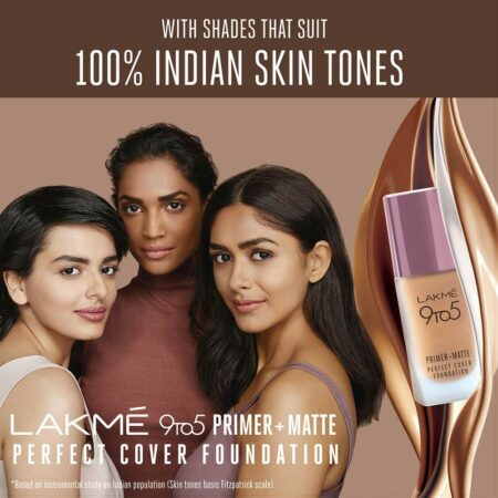 9 To 5 Prime + Matte Perfect Cover Foundation
