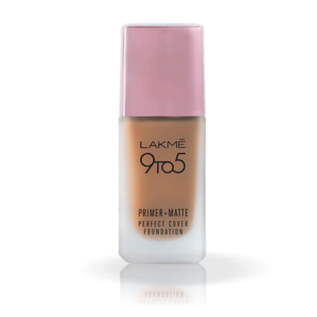 Lakme 9 To 5 Primer + Matte Perfect Cover Foundation, C300