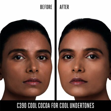 Lakme 9 To 5 Primer + Matte Perfect Cover Foundation, C390 Cool Cocoa