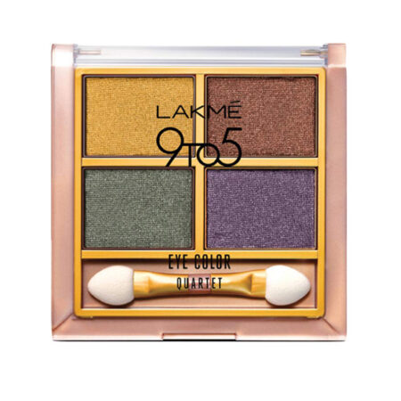 Lakme 9to5 Eye Color Quartet Eye Shadow Tanjore Rush (7g)