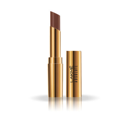 Lakme Absolute Argan Oil Lip Color, Burnt Brown (3.4g)
