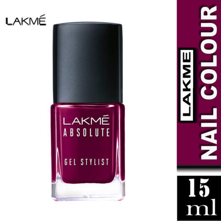 Lakme Absolute Gel Stylist Nail Color, Royalty (15ml)