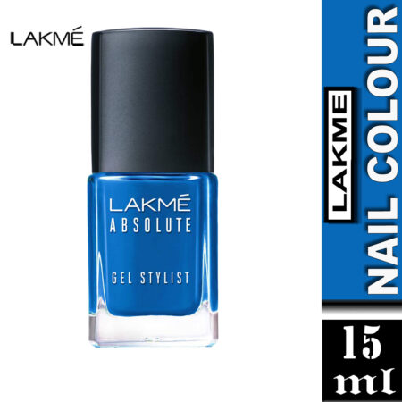 Lakme Absolute Gel Stylist Nail Color, Clear Sky (15ml)