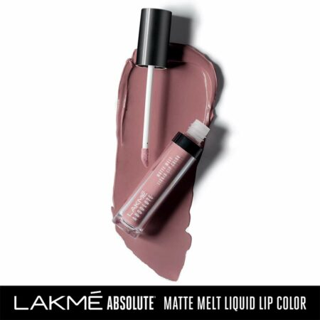 Lakme Absolute Matte Melt Liquid Lip Color, Mild Mauve (6ml)