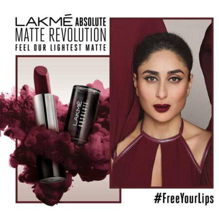 Lakme Absolute Matte Revolution Lip Colour Mauve Me
