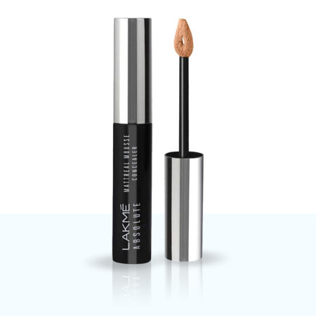 Lakme Absolute Mattereal Mousse Concealer, Sand (9g)
