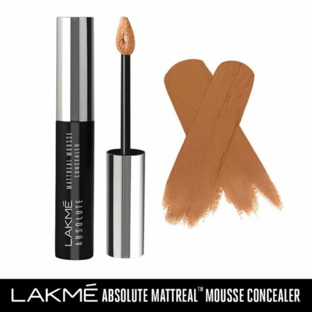 Lakme Absolute Mattereal Mousse Concealer, Walnut (9g)