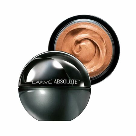 Lakme Absolute Mattreal Skin Natural Mousse, Almond Honey (25g)
