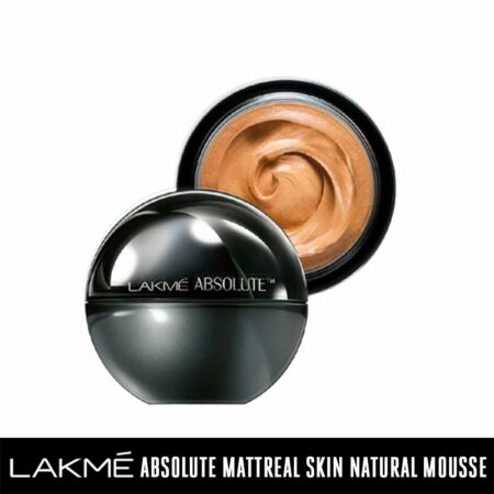 Lakmé Absolute Mattreal Skin Natural Mousse, Golden Light (25g)