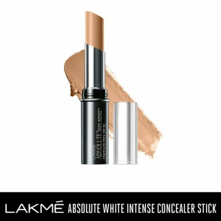 Lakme Absolute White Intense SPF 20 Concealer Stick, Fair (3.6g)