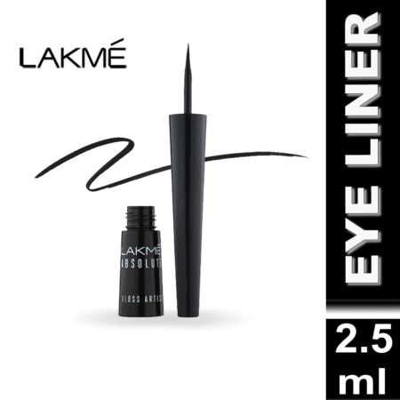 Lakme Alakme Absolute Gloss Artist Eye Liner, Black (2.5ml)
