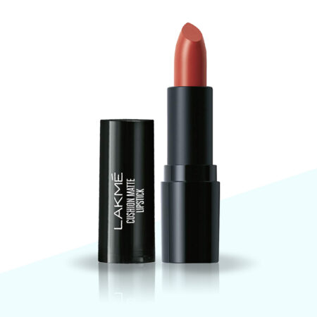Lakme Cushion Matte Lipstick, Red Orchid