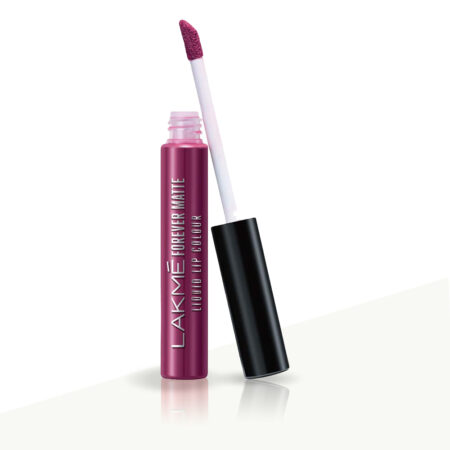Lakme Forever Matte Liquid Lip Color, Purple Pout (5.6ml)