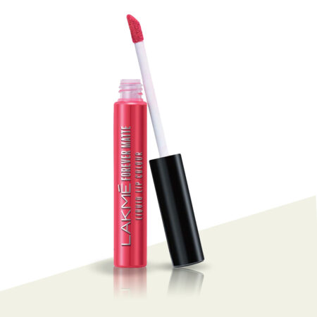 Lakme Forever Matte Liquid Lip Color Coral Candy