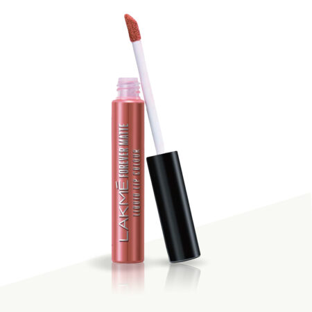 Lakme Forever Matte Liquid Lip Color, Nude Myth (5.6ml)