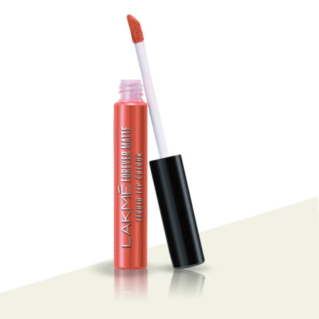 Lakme Forever Matte Liquid Lip Color Orange Tango