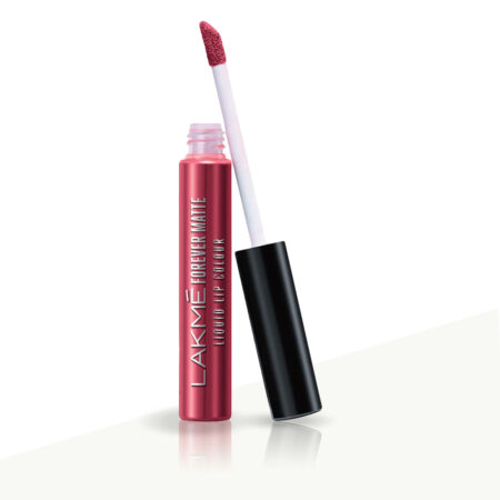 Lakme Forever Matte Liquid Lip Color, Pink Glam (5.6ml)