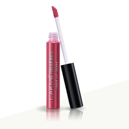 Lakme Forever Matte Liquid Lip Color, Pink Peach (5.6ml)