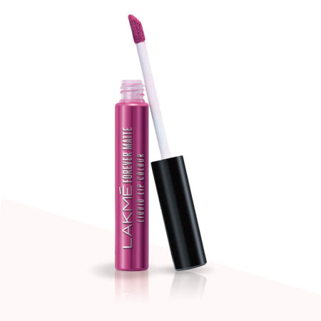 Lakme Forever Matte Liquid Lip Color, Pink Trip (5.6ml)