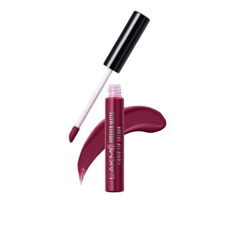Lakme Forever Matte Liquid Lip Color, Red Wine (5.6ml)