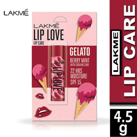Lakme Lip Love Gelato Collection, Berry Mint (4.5g)