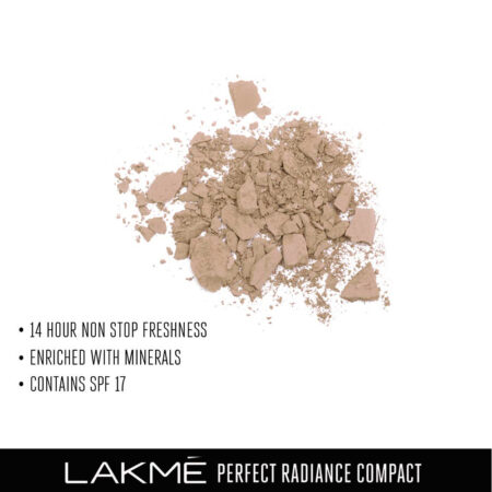 Lakme Perfect Radiance Compact, Beige Honey 8g