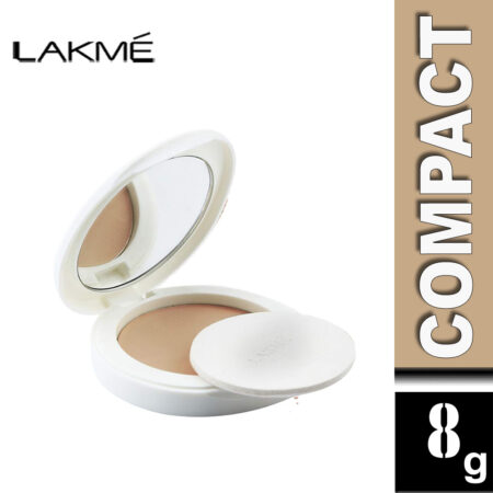 Lakme Perfect Radiance Compact, Beige Honey (8g)