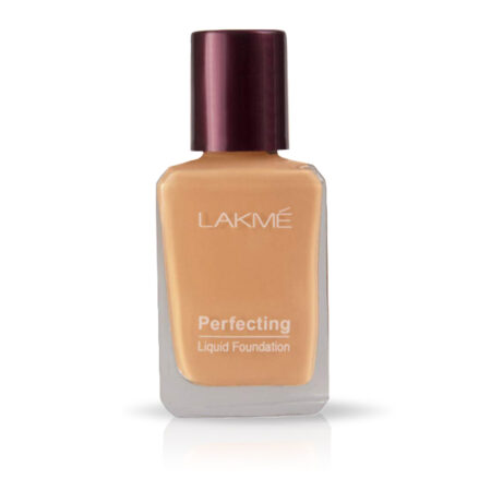 Lakme Perfecting Liquid Foundation, Coral (27ml)