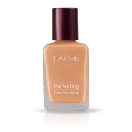 Lakme Perfecting Liquid Foundation, Shell (27ml)