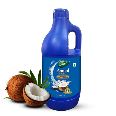 Dabur Anmol Gold Coconut Oil, 1 Ltr