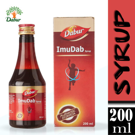 Dabur ImuDab Syrup 100% Ayurvedic for Immunity & Strength for Children 200ml (Pack of 3)