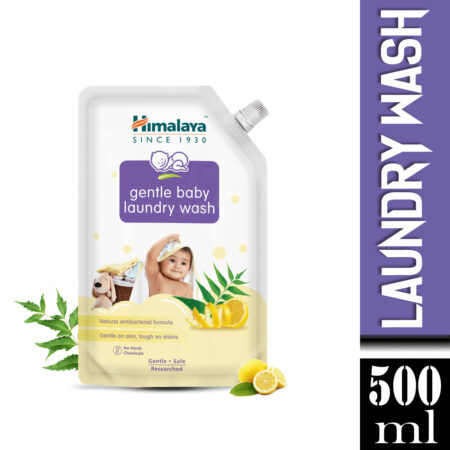 Himalaya Gentle Baby Laundry Wash 500 ml (Pouch)