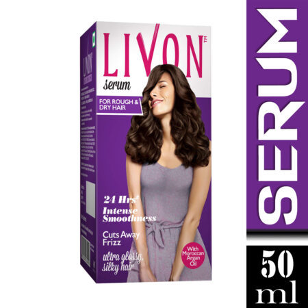 Livon Serum for Dry & Rough Hair With Argan Oil & Vitamin E, 50ml