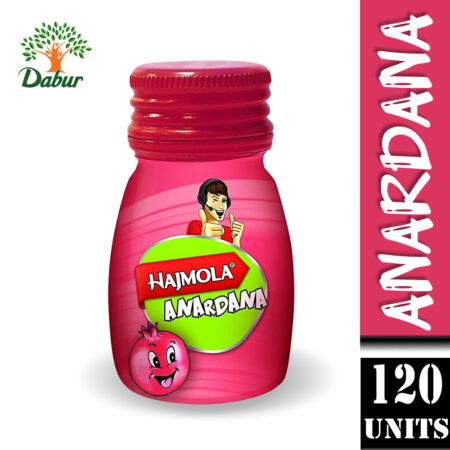 Dabur Hajmola Anardana Tablet, 120 Tablets (Pack of 2)