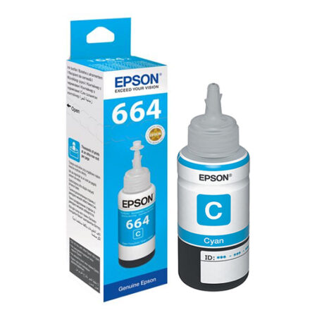 Epson 6642 Cyan Ink Bottle – 70 ml