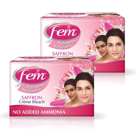 Fem Fairness Naturals Saffron Bleach (24g) Pack of 2