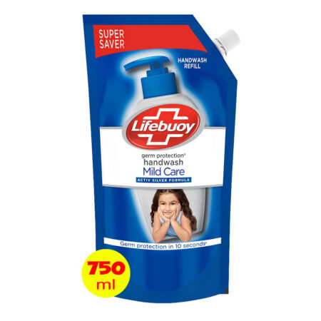 Lifebuoy Mild Care Germ Protection Handwash Refill, 750 ml
